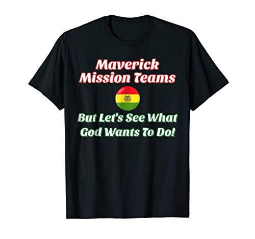 Maverick Mission Teams (Font Bolivian Flag Red and Green)