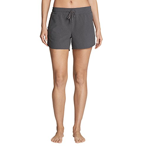 Eddie Bauer Women's Trail Seeker Shorts, Dk Smoke HTR Regular M