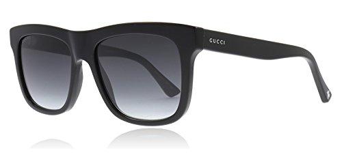 Gucci Black Square Sunglasses Lens Category 3 Size 54mm