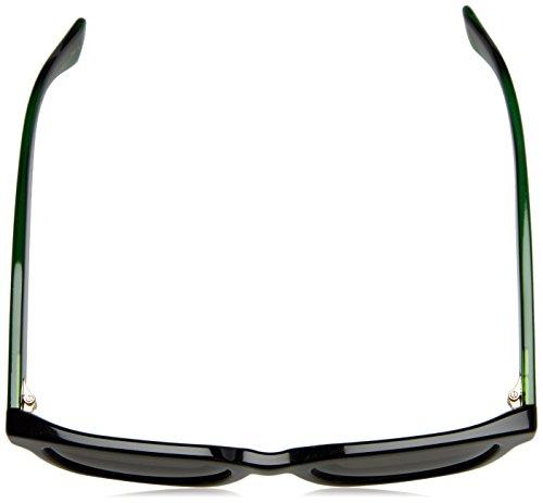 9abdd04612 Home   Shop   Men   Accessories   Sunglasses   Eyewear   Gucci Black  Plastic Square Sunglasses Grey Polarized Lens