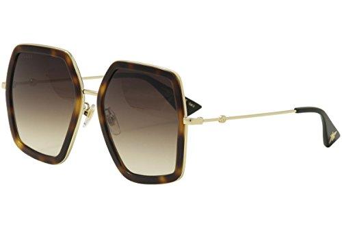 Gucci GG HAVANA / BROWN / GOLD Sunglasses