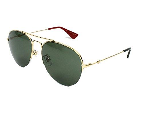Gucci GG GOLD/GREEN Sunglasses
