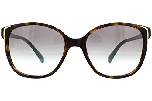 Prada Havana Brown Gradient Polarized Sunglasses, 55mm