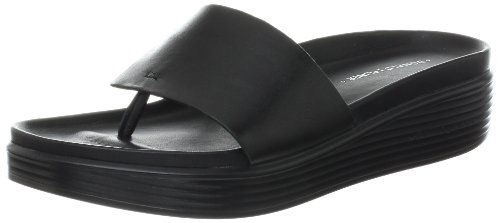 Donald J Pliner Women's Fifi Wedge Sandal,Black,9 M US