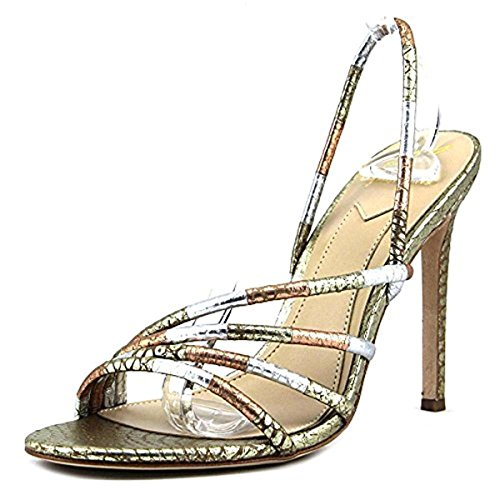 B Brian Atwood Women's Fifi Metallic Multi 6.5 M US