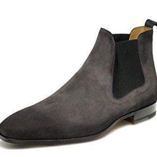 Magnanni Shaw Grey Men's Boots Size 14 US