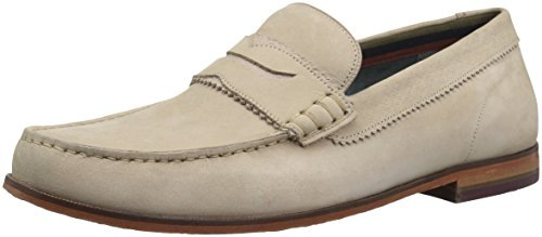 Ted Baker Men's Miicke Loafer, Light Tan Nubuck, 8 D(M) US