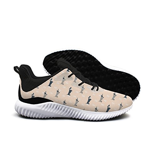 Dachshund Dog Scandinavian Men Shoes Running Shoe Casual Sneakers