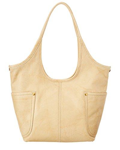 FRYE Campus Rivet Shoulder Leather Tote Handbag, Banana