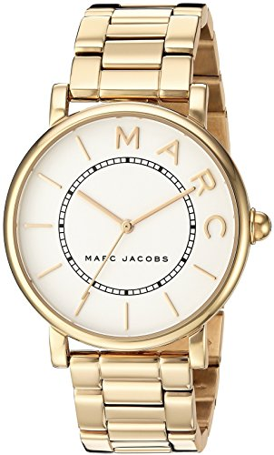 Marc Jacobs Women's 'Roxy' Quartz Stainless Steel Casual Watch, Color Gold-Toned