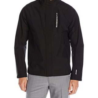 J.Lindeberg Men's Gore Paclite Jacket, Black, M