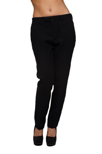 Roberto Cavalli - Women's Dress Pants Trousers, 40, Black