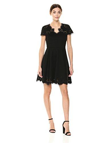 Ted Baker Women's Saloane Dress, Black, 2