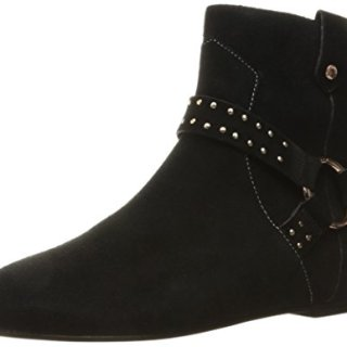 Ted Baker Women's Sonoar Ankle Bootie, Black, 8 M US