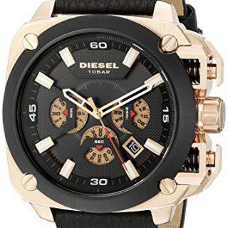 Diesel Men's Analog Display Analog Quartz Black Watch