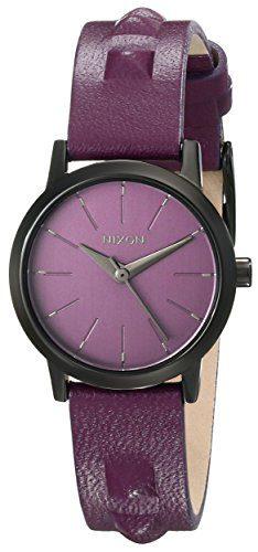 Nixon Women's Kenzi Leather Watch