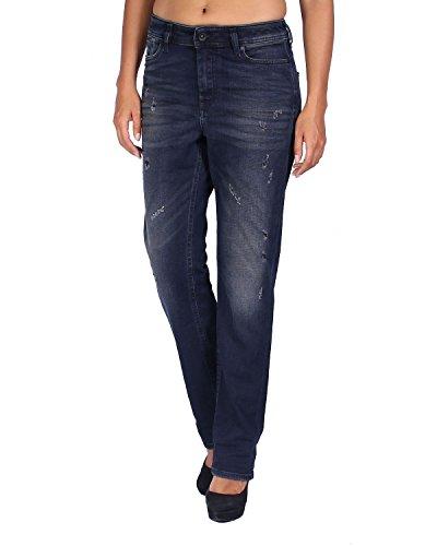 Diesel Women's Jeans - Regular Straight - Blue (Navy), W27/L32