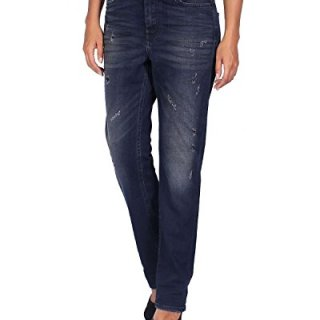 Diesel Women's Jeans - Regular Straight - Blue (Navy), W27/L32