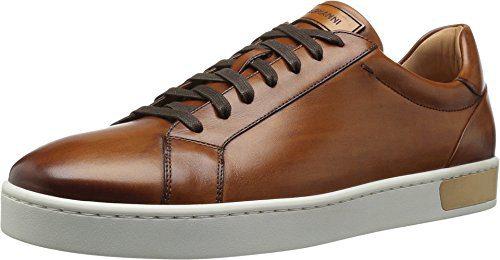 Magnanni Men's Caballero Fashion Sneaker, Cognac, 10 M US