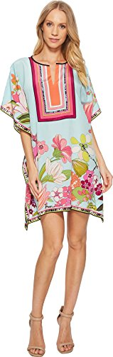 Trina Turk Women's Theodora Dress, Multi, Medium/Large