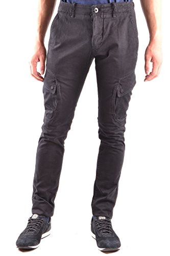 Stone Island Men's Black Cotton Pants