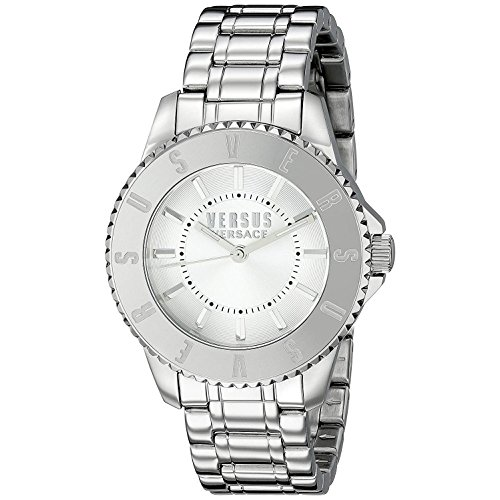 Versus by Versace Women's TOKYO Analog Display Quartz Silver Watch