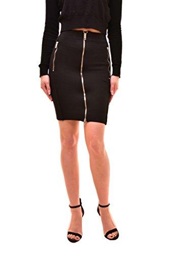 Diesel Women's Slim Fit Mini O-Geno Gonna Skirt Black Size 24