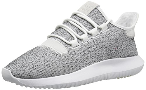 adidas Originals Men's Tubular Shadow Sneaker, White/Grey One/White, 9.5 M US