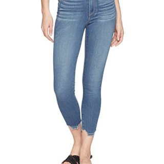PAIGE Women's Hoxton Crop Jeans, Lived in Henderson, 29
