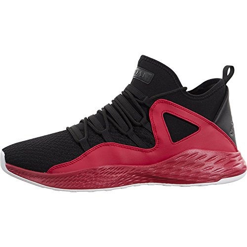 JORDAN MENS JORDAN FORMULA 23 BLACK BLACK GYM RED WHITE SIZE 8