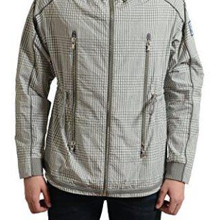 Moncler Gamme Bleu Men's Multi-Color Checkered Windbreaker Jacket Size 3 US M