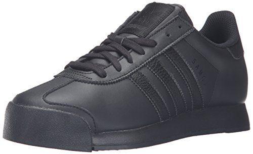adidas Originals Men's Shoes | Samoa Fashion Sneakers, Black/Black/Black, (12 M US)