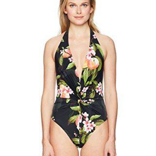Ted Baker Women's Twissa Swimsuit, Black, 5