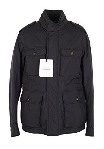 Moncler CL Blue Eusebe Field Jacket Coat Size 2/M/48/38 U.S.