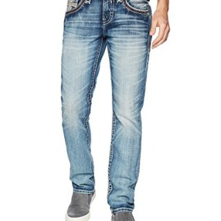 Rock Revival Men's Wade, Medium Blue, 36