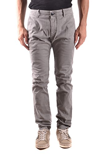 Stone Island Men's Grey Cotton Pants