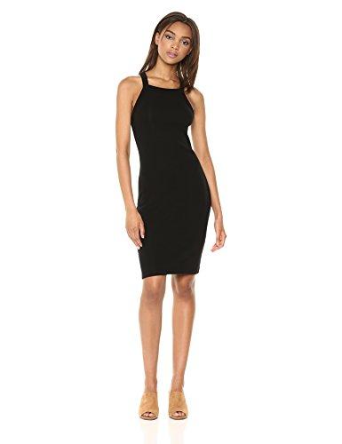 Stateside Women's Midi Tank Dress, Black, Small