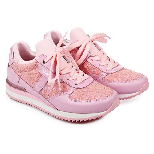 Dolce & Gabbana Women's Fashion Sneakers Pink (6 B(M) US)