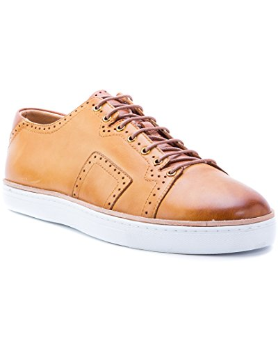 Robert Graham Marti Leather Sneaker, 10.5
