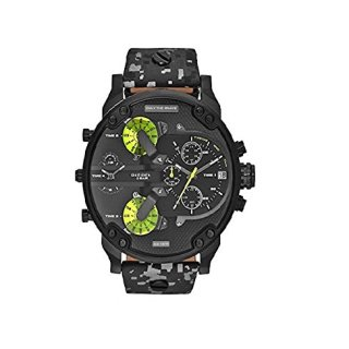 Diesel Watches Mr. Daddy 2.0 Watch (Grey)