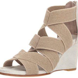 Donald J Pliner Women's Lelle Sandal, Natural/Platino, 8.5 M US