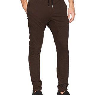 Zanerobe Men's Signature Stretch Fabric Tapered Fit Salerno Chino Pants, Coffee, 30