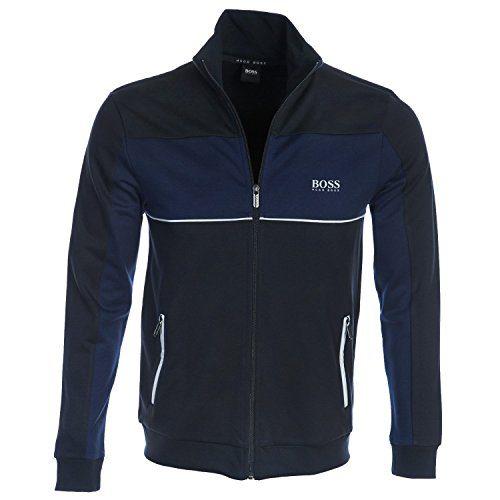 Hugo Boss Boss Men's Tracksuit Jacket, Dark Blue, S