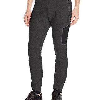 J.Lindeberg Men's M Athletic Pants Tech Sweat, Dk Grey Melange, XL