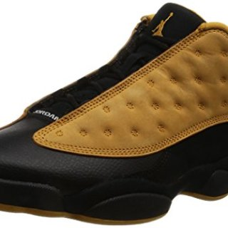 Nike Mens Air Jordan 13 Retro Low Chutney Black/Chutney Leather Size 10