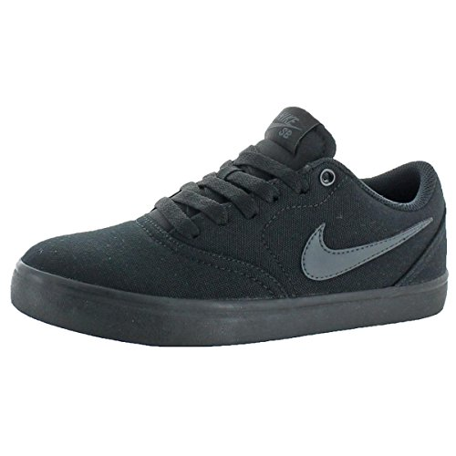 NIKE Mens Check Solar Solar Sole Skateboarding Shoes Black 4.5 Medium (D)