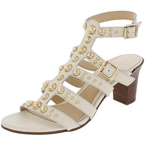 Brian Atwood B Womens Blaise Evening Dress Sandals Ivory 7 Medium (B,M)