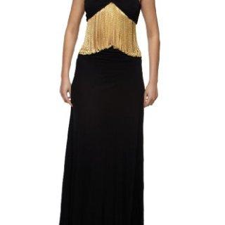 Roberto Cavalli - Dress Black Gold Chains, 40, Black