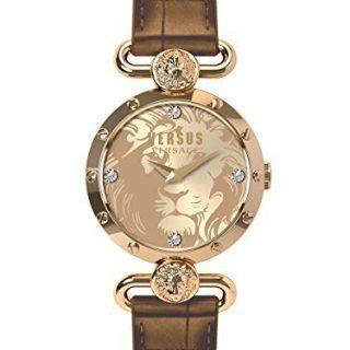 Versus by Versace Women's SUNNYRIDGE Analog Display Quartz Brown Watch