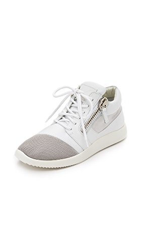 Giuseppe Zanotti Women's Sneakers, White, 35.5 IT
